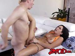 Brunette Karlee Grey&039;s Hairy Pussy Banged