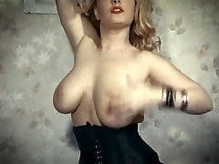 FEELING WILD - vintage big boobs erotic dance stockings