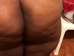 Black blonde from philly Throws Ass Back
