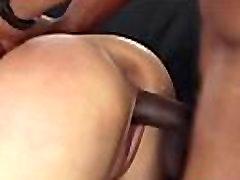 Interracially fucked milf in cuckold action