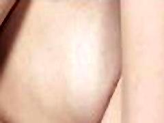 Babe rubs wet crack craving for sex