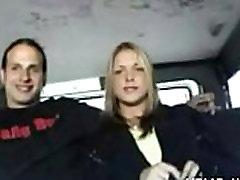 Erotic fantasies come true in a bus