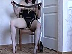 A small boy and small girls in black foreign sex videos com hospital and stockings licks her leg and masturbates