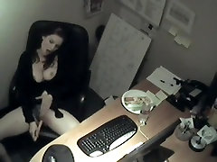My Secretarie Masturbation at work
