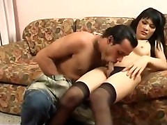 Asian shemale in school bus hd roub piper gets fucked on the couch