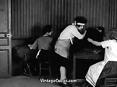 Happy Teens Fuck and Spank Each Other 1920s Vintage