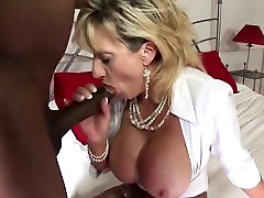 British MILF Gets Assaulted When Coming Home