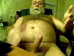 Old Man cumming 1
