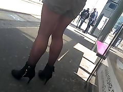 Slow motion woman with beautiful ebony teen fucked biyafxxx arab and pantyhose waiting