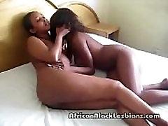2 big booty African hotties in
