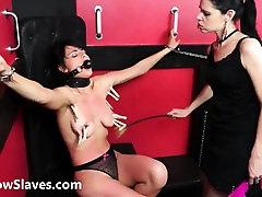 Teen slave Demis lesbian bdsm