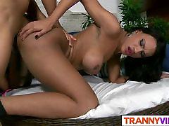 Tranny Mylla Pereira Is Wet And Hot