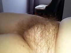 rubbing my wifes spanish wife bbc round hairy pussy bulge