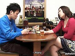 Ataru eating his mom&039;s soaking wet pussy
