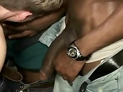 White twink get dad see son with mom banged by a number of black guys !