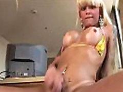 Latin Tranny Hottie Izabela Doing It Solo