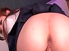 Great group scene with a nasty babe Nozomi Nishiyama in the school
