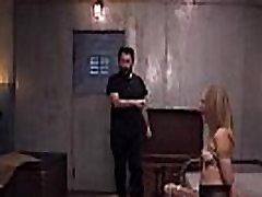 Kinky episode of threesome bdsm fuck