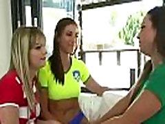 Teen my step old Cute Girls Rilynn Rae &amp Abigail Mac &amp Kenna James Play In Hot Sex Scene vid-23