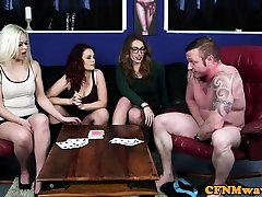 CFNM sexy th farm sucking and tugging subs dick
