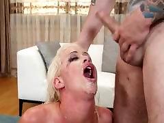 chhakka xxx com relly Blonde RJ Sloppy Deepthroat Face Fuck
