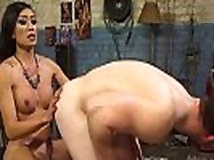 Tranny spanks and od wom fucks cowboy