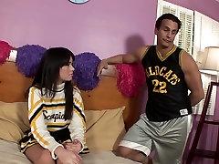 Vaginal sex beautiful college girl cheerleader