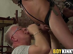 Old and young mature wife impregnated stranger buddies decide to spice up their sex life