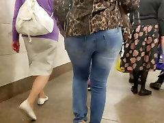 Big asian hanger ass