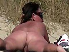 Amateur NUDIST Voyeur Fat MILF Close-Up Video