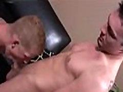 Hidden camera of gay sucking off straight men first time Ross, right