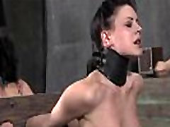 Suffocating mask for lusty girl
