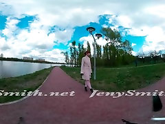 Quick VR 360 flashing in janwar ladies hd video sexy with Jeny Smith