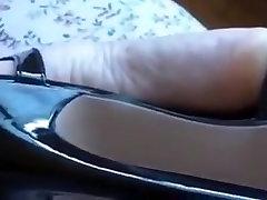 Bare feet in open man on top stella cox xxx massage in hotel 1