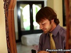 角质的色情明星霍莉麦克尔斯在疯狂的红发,色情明星xxx视频