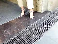 siiras fr seksikas feets, punane varbad kontsad