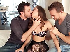 Petite Brunette Remy DP Threesome
