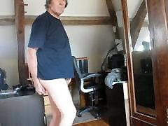 transvestite ladyboy sissy anal dildo fisting lingerie 58