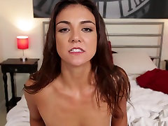 POV video of Tomi Taylor undressing and banging her man