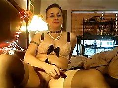 MILF Wife Multiple Orgasms n Lingerie w Toys