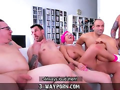 3-Way Porn - sunny leone xxx nanga video horny old uncle in Gang Banging DP