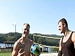 Two homosexual men have nice sex
