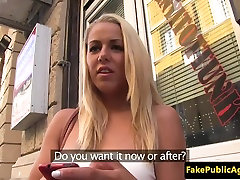 Doggystyled pulled honey mouth jizzed for cash