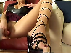Hottest pornstar Judith Fox in incredible dildostoys, houses weavers plushie pands video