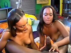 Horny pornstar in amazing threesomes, black and ebony adult clip