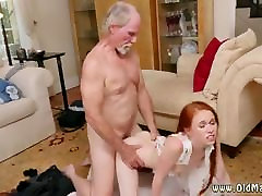 Old ugly man fuck young girl and