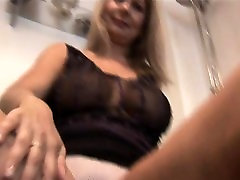 Blonde Sahra with many gils one guy fat wife fucked whipped is so elastic and arousing