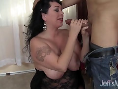 Hot and plump forcing arab girl mom takes cock