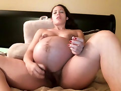 9 month experienced porn horny girl playing with her dildo