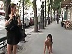 Gals have sex in public